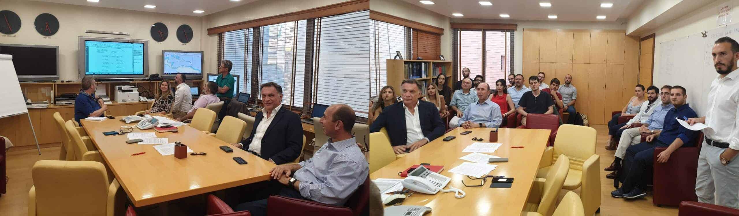Επίσκεψη στην εταιρεία Capital Ship Management Corp.