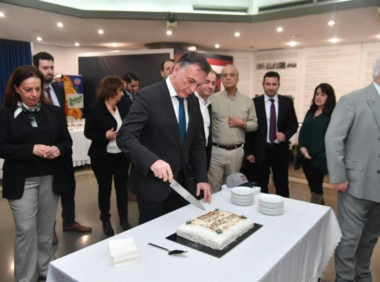 Κοπή της πίτας του Τμήματος Ναυτιλιακών Σπουδών